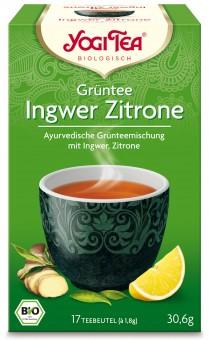 Bio Grüntee Ingwer-Zitrone, 30,6 g