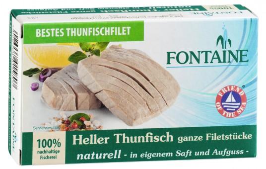 Thunfisch naturell (konv. Anbau), 120 g