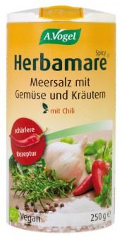 Bio Herbamare Spicy Kräutersalz (mit Chili), 250 g 250 g