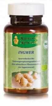 Bio Ingwer (60 Kapseln), 36 g