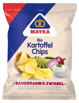 Bio Kartoffelchips Sauerrahm & Zwiebel, 70 g
