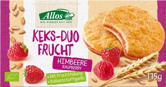 Bio Keks-Duo Frucht Himbeere, 175 g