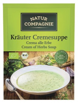 Bio Kräuter Cremesuppe, 40 g