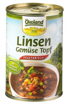 Bio Linsen-Gemüse-Topf, 400 g