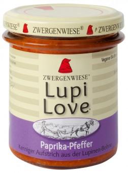 Bio Paprika-Pfeffer Aufstrich Lupi Love, 165 g