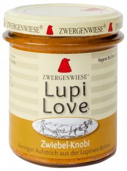 Bio Zwiebel-Knobi Aufstrich Lupi Love, 165 g