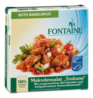Bio Makrelensalat Toskana, 200 g