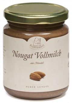 Bio Mandel-Nougat Vollmilch, 250 g
