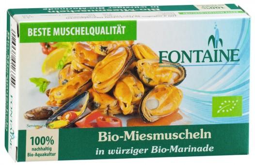 Bio Miesmuscheln, 120 g