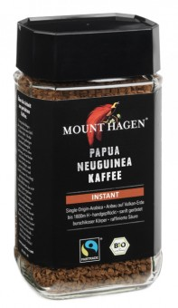 Bio Papua Neuguinea Kaffee instant, 100 g