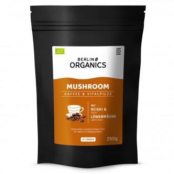Bio Vitalpilzkaffee Lions Mane & Reishi, 250 g