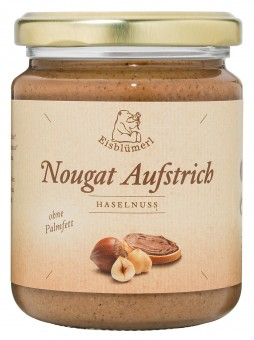 Bio Nougat Aufstrich Haselnuss, 250 g