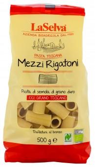 Bio Mezzi rigatoni - Nudeln aus Hartweizengrieß, 500 g