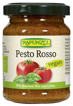 Bio Pesto Rosso vegan, 120 g