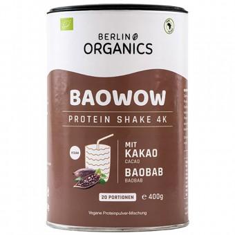 "Bio ""BAOWOW"" veganes Protein Schoko, 400g"