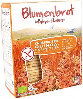 Bio Knusprige Quinoa-Schnitten, glutenfrei, 150 g