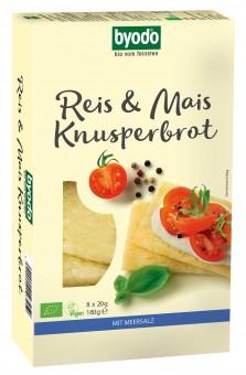 Bio Reis und Mais Knusperbrot, 160 g