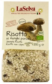 Bio Risotto ai funghi porcini, Steinpilz-Risotto, 250 g