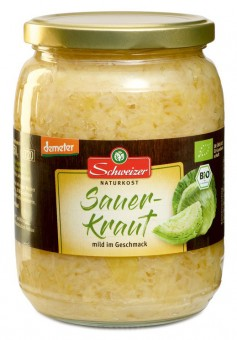 Bio Sauerkraut, 720 ml