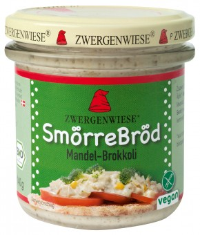 Bio SmörreBröd Mandel-Brokkoli, 140 g