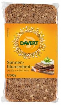 Bio Sonnenblumenbrot aus dem vollen Korn, 500 g