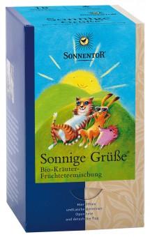Bio Kräuter Früchteteemischung Sonnige Grüße Btl., 45 g