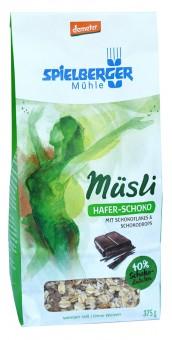Bio Hafer-Schoko-Müsli, 375 g