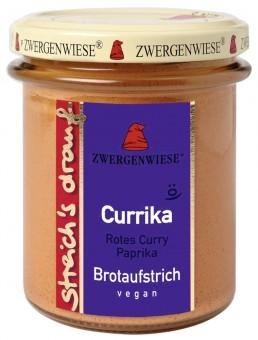 Bio Brotaufstrich Streichs drauf Currika (rotes Curry - Paprika), 160 g