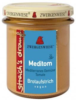 Bio Brotaufstrich Streichs drauf Meditom (mediterranes Gemüse - Tomate), 160 g
