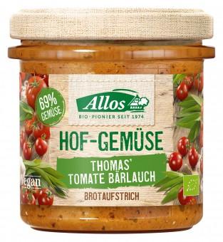 Bio Hof-Gemüse Thomas' Tomate Bärlauch, 135 g