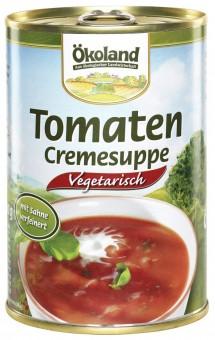 Bio Tomaten-Cremesuppe vegetarisch, 400 g