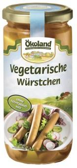 Bio vegetarische Würstchen, im Glas, 200 g