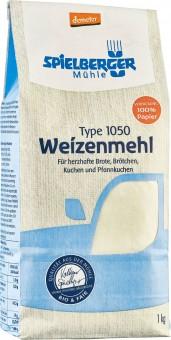 Bio Weizenmehl Type 1050, 1 kg