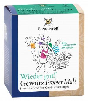 Bio Wieder gut - Gewürz Probierpackung, 50 g