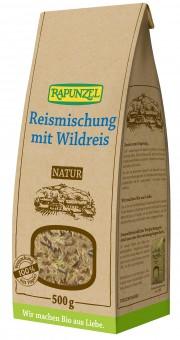 Bio Reismischung mit Wildreis, 500 g