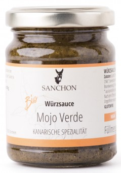 Bio Würzsauce Mojo Verde, 125 g
