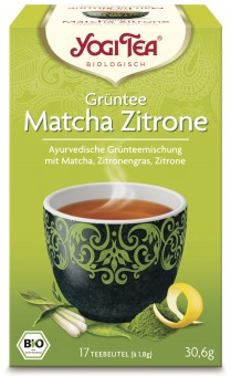 Bio Grüntee Matcha Zitrone Teemischung, 30,6 g