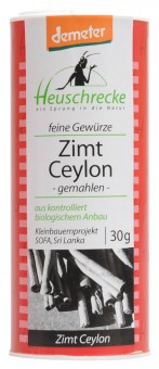 Bio demeter Zimt Ceylon, gemahlen, 30 g