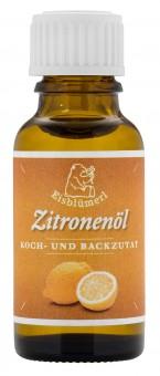 Bio Zitronenöl, 20 ml