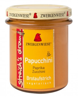 Bio Papucchini (Paprika Zucchini), 160 g streich's drauf