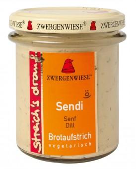 Bio Sendi streich's drauf (Senf Dill), 160 g