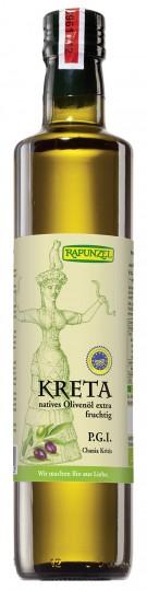 Bio Olivenöl Kreta P.G.I nativ extra, 0,5 l