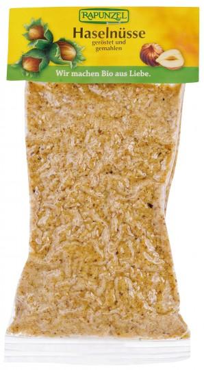 Bio Haselnüsse geröstet & gemahlen, 125 g
