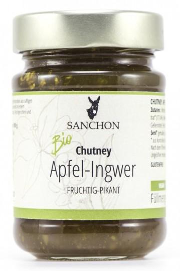 Bio Chutney Apfel-Ingwer, 200 g