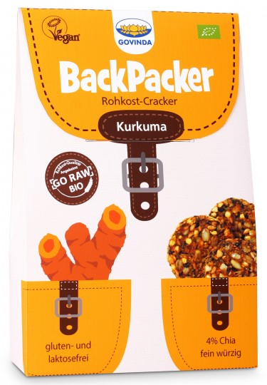 Bio Backpacker Kurkuma, 80 g