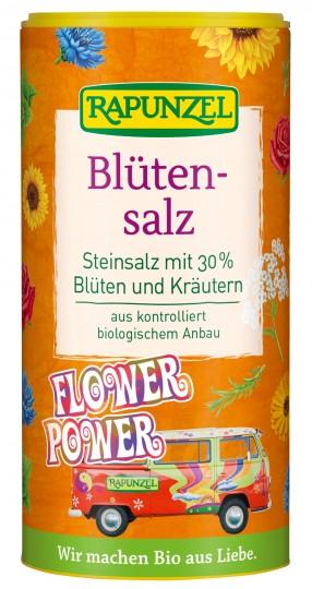 """Bio Blütensalz """"Flower Power"""", Steinsalz mit 30% Blüten, 90 g"""