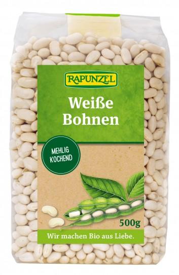 Bio Bohnen weiß, 500 g