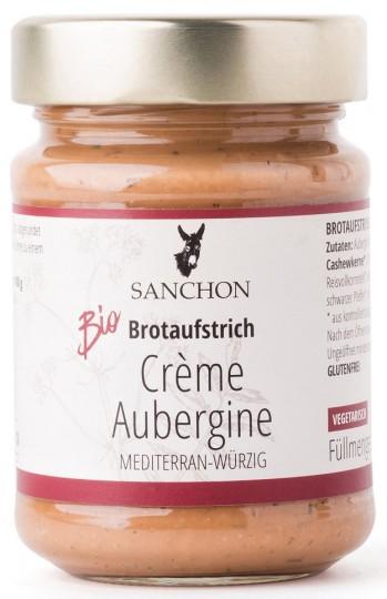 Bio Brotaufstrich Crème Aubergine, 190 g