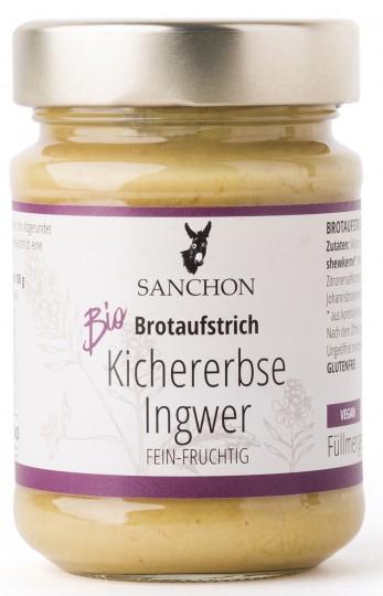 Bio Brotaufstrich Kichererbse Ingwer, 180 g