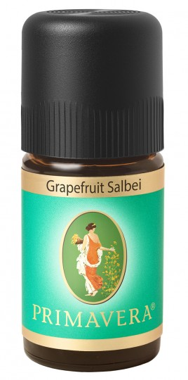 Duftmischung Grapefruit Salbei (konventionell), 5 ml